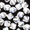 Swarovski Perlen 5328 XILION BEAD Doppelkegel 4 mm crystal moonlight