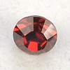Swarovski 1028 Runder Stein (Chaton) SS29 (ca.6,2mm) crystal red magma (SF)