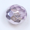 Glasschliffperlen 10 mm hell amethyst metallic