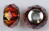 Swarovski 5948 BeCharmed Briolette crystal red magma