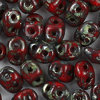 SuperDuo Beads rot opak picasso 2,5 x 5mm  10g