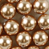 Swarovski 5810 Crystal Pearls 6 mm Rose Gold Pearl