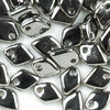 Dragon Scale Beads 1,5 x 5mm crystal - full chrom 4g ( ca. 100 Stück)