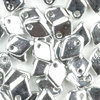 Dragon Scale Beads 1,5 x 5mm silber metallic (full labrador) 4g ( ca. 100 Stück)